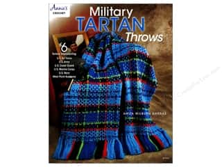 books & patterns: Military Tartan Throws Book by Anita Wilburn Darras