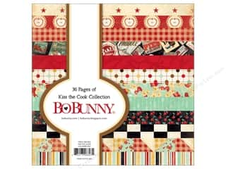 Bo Bunny 6 x 6 in. Paper Pad Kiss The Cook