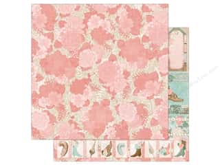 scrapbooking & paper crafts: Bo Bunny 12 x 12 in. Paper Felicity Trellis (25 pieces)