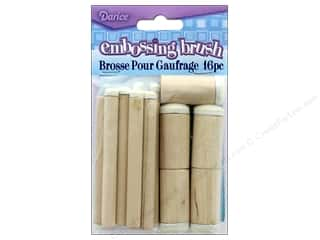 foam stencil brushes: Darice Tool Foam Brush Assortment 16pc