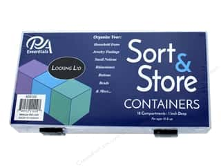 sewing & quilting: PA Essentials Sort & Store Organizer Box - 18 Compartment
