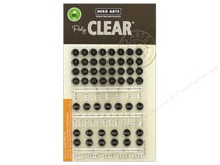 stamp cleared: Hero Arts Poly Clear Stamp Typewriter Keys Journaling