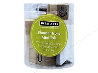 scrapbooking & paper crafts: Hero Arts Rubber Stamp Mini Tub Planner Icons