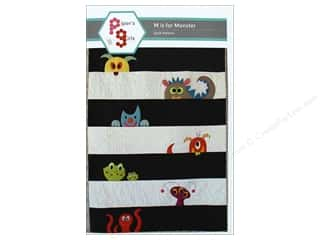 books & patterns: Pipers Girls M Is For Monster Pattern