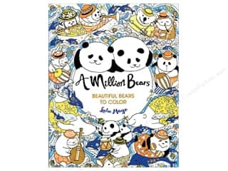 A Million Bears: Beautiful Bears to Color Coloring Book by Lulu Mayo