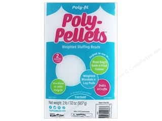 craft & hobbies: Fairfield Poly-fil Poly-Pellets 32 oz.