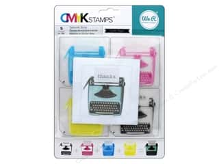 stamps: We R Memory Stamp CMYK Typewriter
