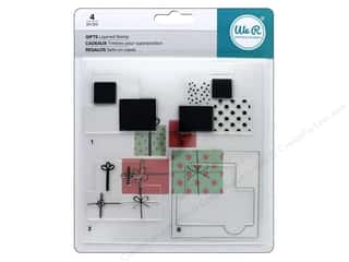 stamps: We R Memory Stamp Layered Gifts