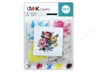 stamps: We R Memory Stamp CMYK Rose
