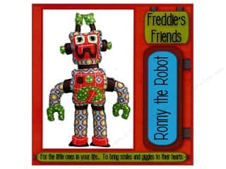 books & patterns: Freddie's Friends Ronny The Robot Pattern