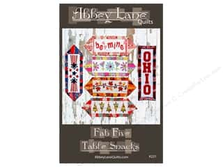 books & patterns: Abbey Lane Quilts Fab Five Table Snacks Pattern