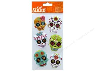 stickers: EK Sticko Stickers Sugar Skull