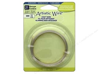 Artistic Wire 21 ga. Flat Wire 3 ft. Tarnish Resistant Silver Plated