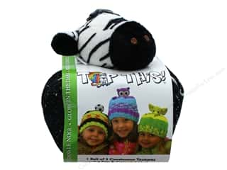 yarn & needlework: DMC Yarn Kit Top This Glow In The Dark Zebra