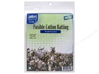 "batting: Pellon Batting Needle Punched Fusible Cotton 34""x 45"""