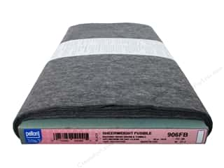 "Weekly Specials: Pellon Interfacing Fusible Sheerweight 20""x 30yd Black (30 yards)"
