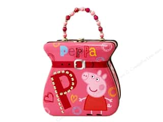Tin Box Co Belt Buckle Purse Peppa Pig