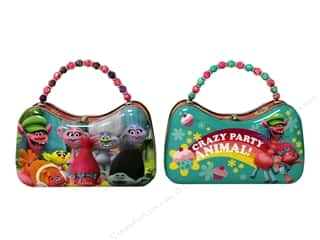 Tin Box Co Scoop Purse Dreamworks Trolls 1 pc.