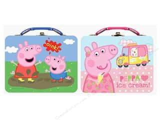 Tin Box Co Carry All Tin Large Peppa Pig 1 pc.
