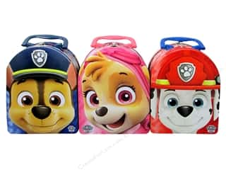 Tin Box Co Arch Shape Carry Paw Patrol 1 pc.