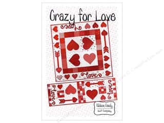 Clearance: Ribbon Candy Quilt Crazy For Love Pattern
