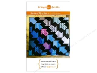 books & patterns: Orange Dot Quilts Sense Of Direction Pattern