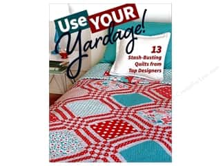 books & patterns: Use Your Yardage!: 13 Stash-Busting Quilts from Top Designers Book by C&T Publishing