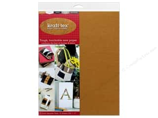 scrapbooking & paper crafts: C&T Publishing Kraft Tex Kraft Paper Fabric Sampler Pack 10 pc.