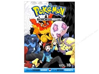 books & patterns: VIZ Media Pokemon Black And White Volume 16 Book