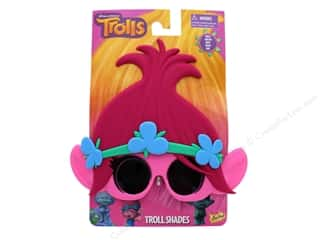 novelties: Sun-Staches Sunglasses Trolls Poppy