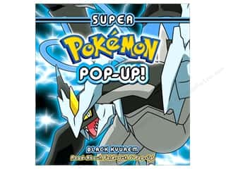 books & patterns: Pikachu Press Super Pokemon Pop-Up Black Kyurem Book