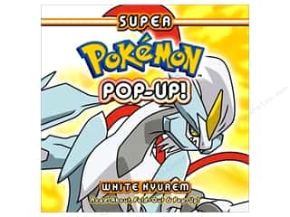 Pikachu Press Super Pokemon Pop-Up White Kyurem Book