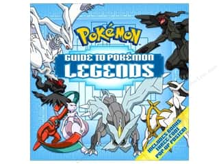 books & patterns: Pikachu Press Guide to Pokemon Legends Book