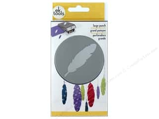 Feathers: EK Success Large Punch Feather 2 3/8 in.