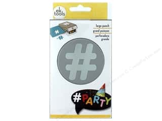 scrapbooking & paper crafts: EK Success Large Punch Hashtag 1 7/8 in.