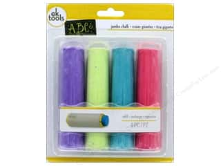 EK Tool Jumbo Chalk Refill Brights 4pc