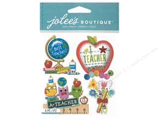 scrapbooking & paper crafts: EK Jolee's Boutique Number 1 Teacher