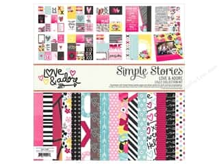 "Simple Stories: Simple Stories Collection Love & Adore Collection Kit 12""x 12"""