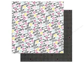"Simple Stories: Simple Stories Collection Love & Adore Paper 12""x 12"" P.S. I Love You (25 pieces)"