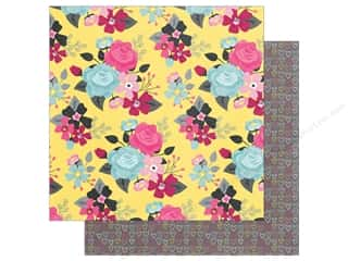 "Clearance: Simple Stories Collection Love & Adore Paper 12""x 12"" Hello Beautiful (25 pieces)"