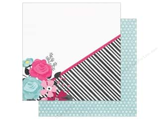 "Simple Stories: Simple Stories Collection Love & Adore Paper 12""x 12"" Head Over Heels (25 pieces)"