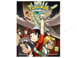 books & patterns: VIZ Media Pokemon Omega Ruby Alpha Sapphire Volume 2 Book