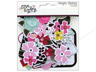 Simple Stories: Simple Stories Collection Love & Adore Bits & Pieces