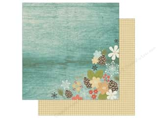 """Simple Stories Collection Winter Wonderland Paper 12""""x 12"""" Warm Winter Wishes (25 pieces)"""