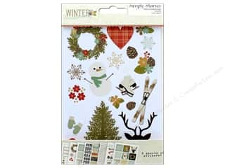 Simple Stories: Simple Stories Collection Winter Wonderland Sticker