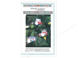 Ornament: Pearl Louise Designs Winter Glamping Ornaments Pattern