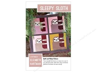 Elizabeth Hartman Sleepy Sloth Pattern