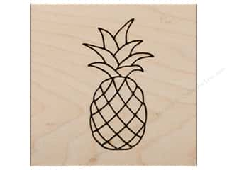 stamp cleaner: Clearsnap Rubber Stamp Wood Mount Pineapple