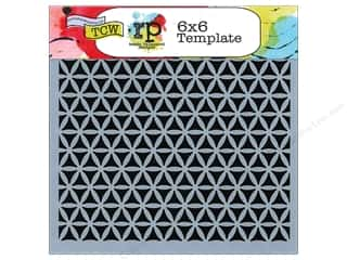 ruler: The Crafter's Workshop Template 6 x 6 in. Kaleidoscope