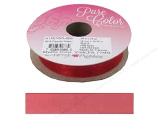 Morex Ribbon Organdy 5/8 in. x 20 yd Red